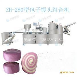 河南旭众ZH-280紫薯馒头机郑州包子馒头组合机
