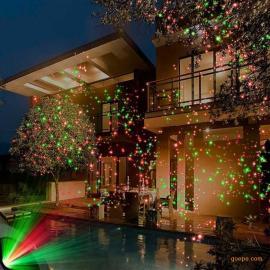 供应双孔动态满天星激光灯 户外防水草坪灯 圣诞树木景观灯 圣诞&