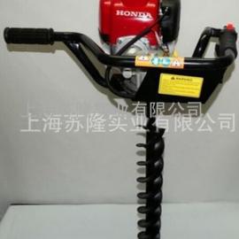 本田GX35 动力种植机,挖地钻,,本田 GX35植树机、钻孔机