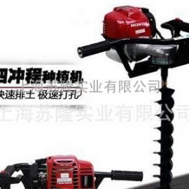 进口动力TB50蜗杆式种植机、进口挖坑机、挖树机