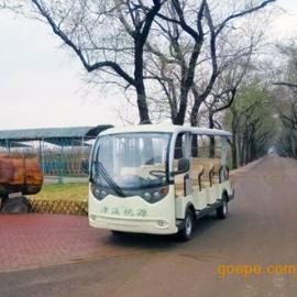 绿通14座电动观光车,看房车,景区观光车