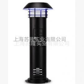 蓝犀牛H-X5不锈钢喷塑黑色草坪灯式灭蚊灯
