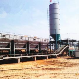 大型全自动稳定土拌合站,亿立WBZ800吨稳定土站,水稳站