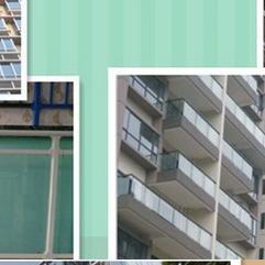 玻璃阳台护栏现货生产制作价格实惠 福林特玻璃阳台护栏
