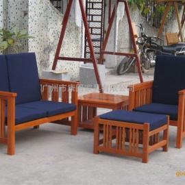 木质防腐桌椅,休闲桌椅