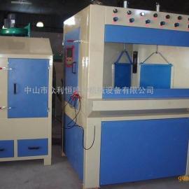 中山自动转盘式喷砂机 中山众利恒喷砂机械厂家