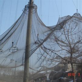 越秀鹦鹉养殖专用不锈钢网@316不锈钢绳网@不锈钢卡扣网