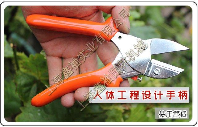 台湾老农夫j61 园林园艺工具 果枝树枝铁砧剪 修枝剪枝剪刀手剪