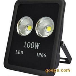 LED聚光灯100W广告灯隧道灯投射灯户外室外防水照明灯具