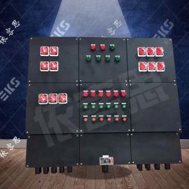 BXM51-10/K32防爆塑壳加铝合金照明动力配电箱图纸