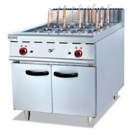 杰冠EH-888立式煮面炉连柜座 商用电热煮面炉