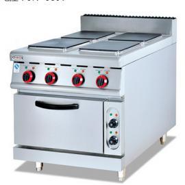 杰冠EH-887A四头煮食炉 电四头煮食炉连?h炉 杰冠西厨