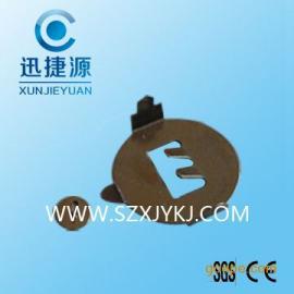 供应常规CR2032直角电池弹片 环保2032电池座