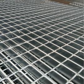 铁路桥侧道平台钢格栅板@铁路桥楼梯踏步板价格