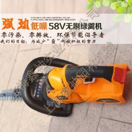 锂电池绿篱机58V 电动绿篱机 园林绿化打草机除草机