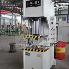 100吨单臂液压机 单柱油压机 小型压力机 滕州液压机厂家