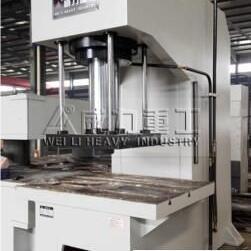 生产厂家现货供应井盖成型单柱液压机 315吨单臂油压机