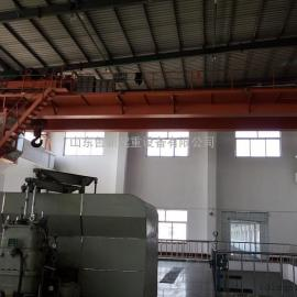 山东质量好的行吊厂家鲁新公司生产50吨100吨桥式行车天车
