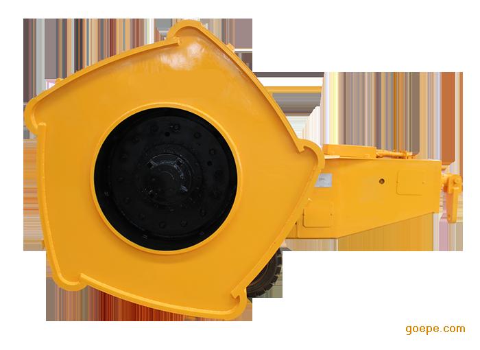 河南哈威设备供应冲击式压路机+牵引车