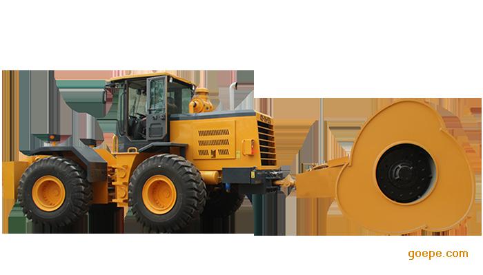 哈威设备供应三边形冲击压路机+牵引车产销量国内较优