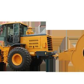 河南哈威设备供应三边形冲击式压路机+牵引车厂家直销