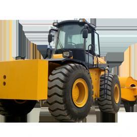 厂家直销:郑州哈威设备供应三边形冲击压路机+牵引车
