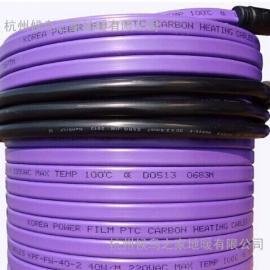 变频发热电缆价格,PTC碳素发热电缆