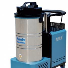 喷塑厂吸喷塑粉吸尘器 凯德威下吸式工业吸尘器