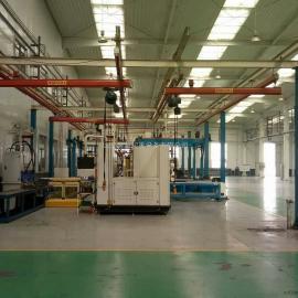 厂家直销KBK-LD柔性单梁悬挂起重机-鲁新柔性单轨起重机厂家