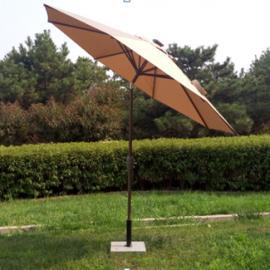 偏转灯光伞,户外遮阳伞,别墅庭院带灯伞