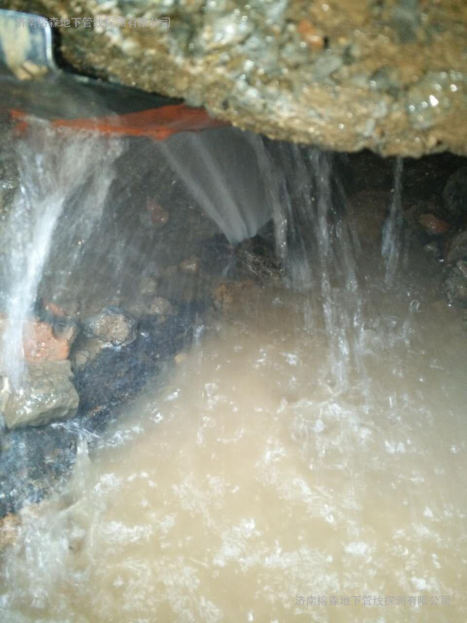 堤口路与济洛路交口DN1000|地下管线专业探测