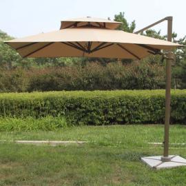 餐饮咖啡户外伞,庭院遮阳伞,地产物业偏转带灯伞,户外遮阳伞