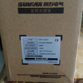 四方变频器SUNFAR E550-2S0004 0.4KW变频器