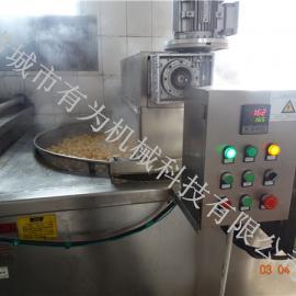 豆泡油炸机 豆泡油炸锅 全程自动控温除渣油炸设备