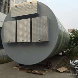 玻璃钢GRP井筒一体化污水提升泵站厂家