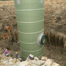 地埋式玻璃钢一体化污水提升泵站