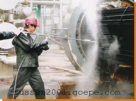 富森高压清洗机对船舶清洗除锈除漆的清洗优势