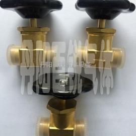 二级稳压箱专用阀SJ1-12氧气截止阀使用说明
