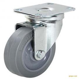 批发零售美国Colson科顺 耐磨 超级人造胶平底万向脚轮