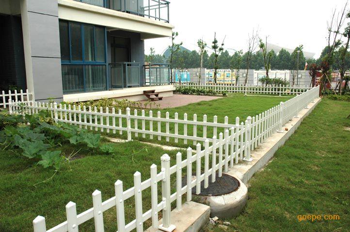 宿迁pvc塑钢新农村建设草坪护栏