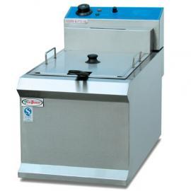 杰冠DF-903单缸单筛电炸炉 商用台式电炸锅 杰冠西厨