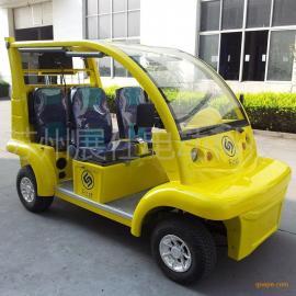 义乌电动观光车 四轮旅游景区电瓶车 校园工厂接送车