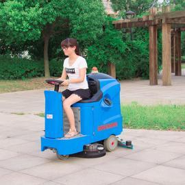 南京厂家直销小型工厂车间超市商场驾驶式刷地洗地机