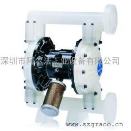 美国固瑞克Husky1590聚丙烯PP气动双隔膜泵
