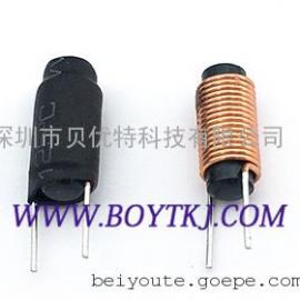 棒形电感 人字电感 磁棒电感 插件电感BTDR0412/0312