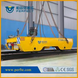 轨道移动小吨位电动搬运平板车