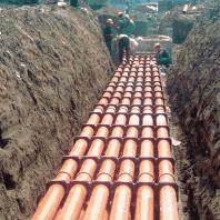 江苏苏州南京DN150多排多列玻璃钢电力管道电缆保护管价格
