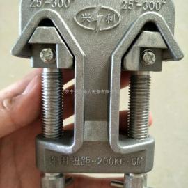 厂家供应兴利带电接火夹 铝引流线夹 生产厂家