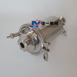 温州产带排气阀管道过滤器 226插口气体过滤器 精密过滤器