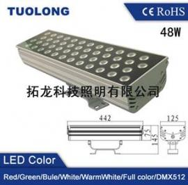 48W白光LED集成投光灯